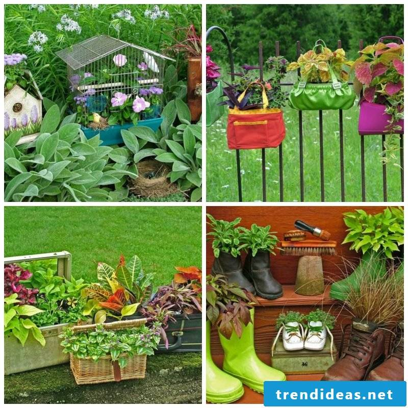 DIY decoration ideas for the garden