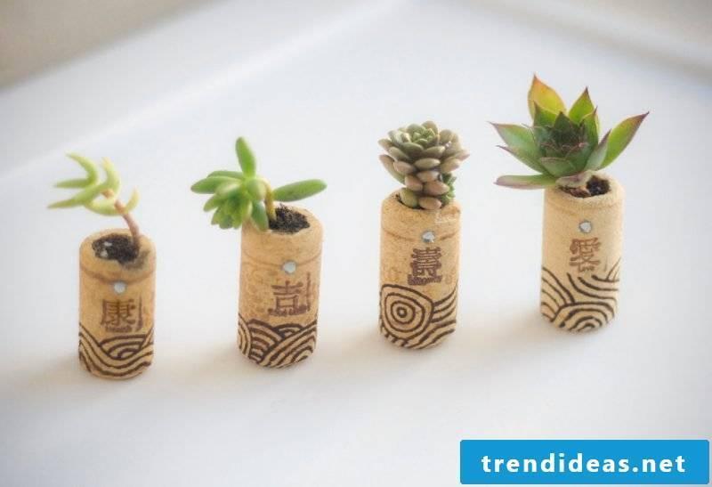Flowerpot cork