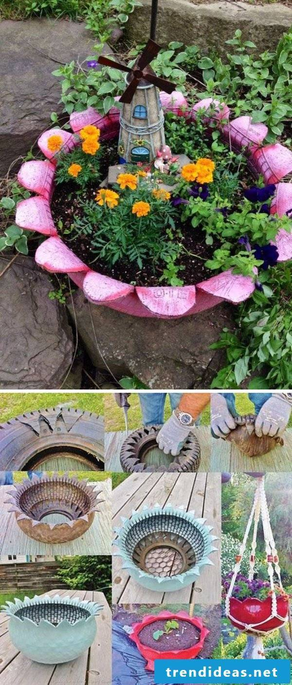 Make flowerpot yourself: Old toys your child can manage in unique flowerpots!