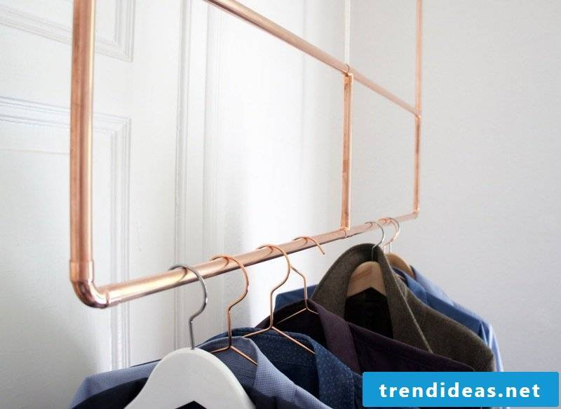 beautiful living ideas furnishing tips furnishing ideas clothes rail copper garden and living living idea