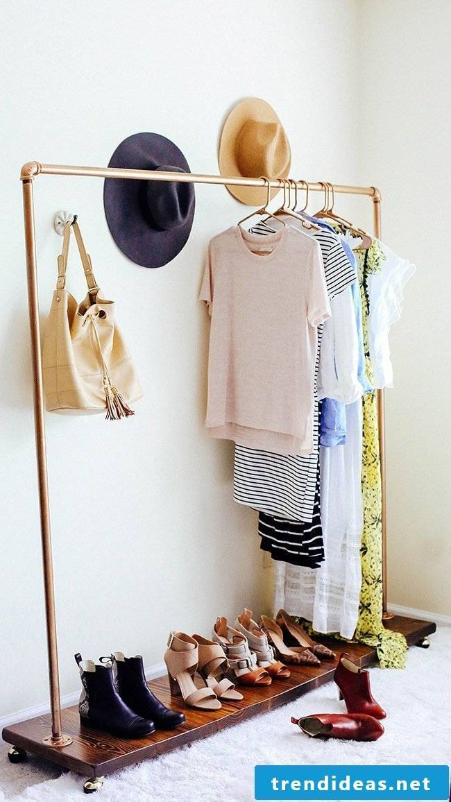 beautiful living ideas furnishing ideas furnishing ideas clothes rack copper garden and living living idea