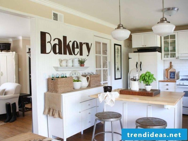 Kitchen decoration white kitchen
