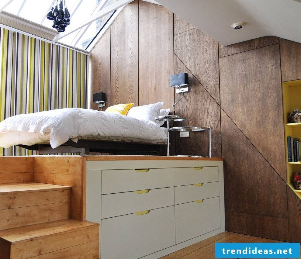 Build Modern Look Pedestal Bed