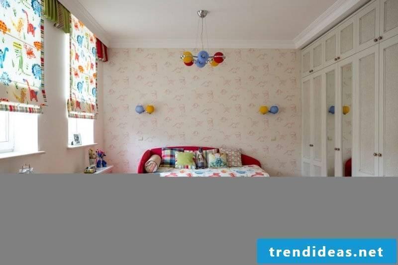 Radiator cover for children's room