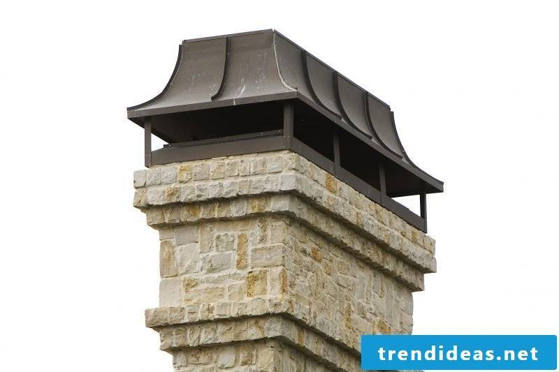 Dressing the chimney: cladding ensures beauty and protection