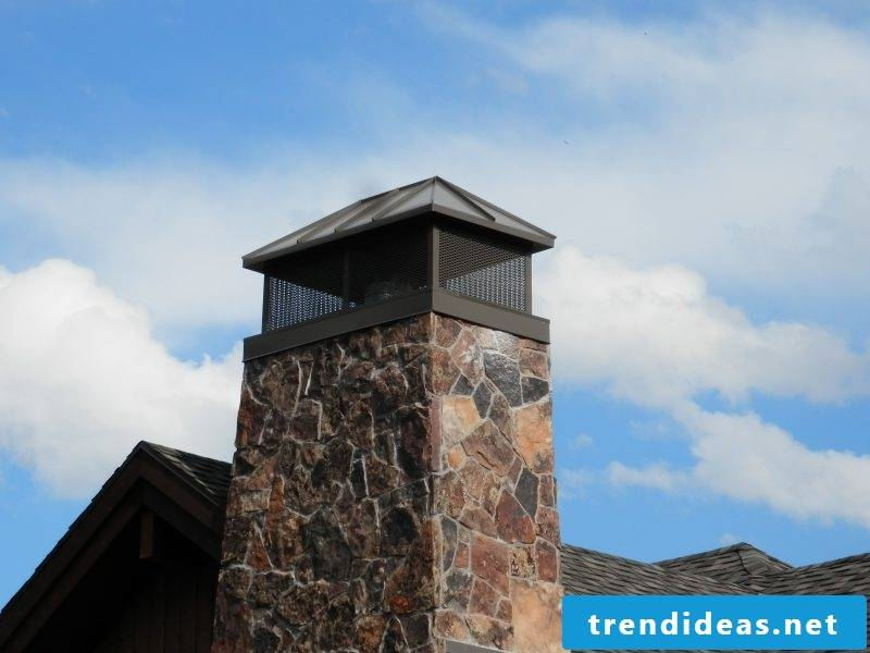 Dressing the chimney: beauty and protection through disguise