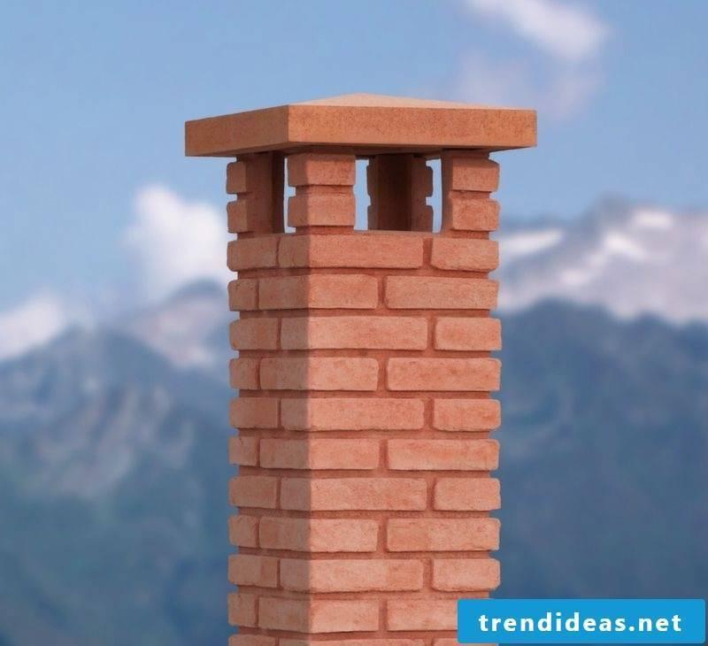 Chimney cladding: classic ider modern chimney dressing