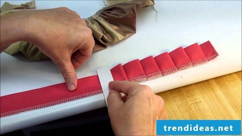 Curtain sew