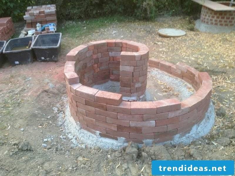 Herb spiral bricks