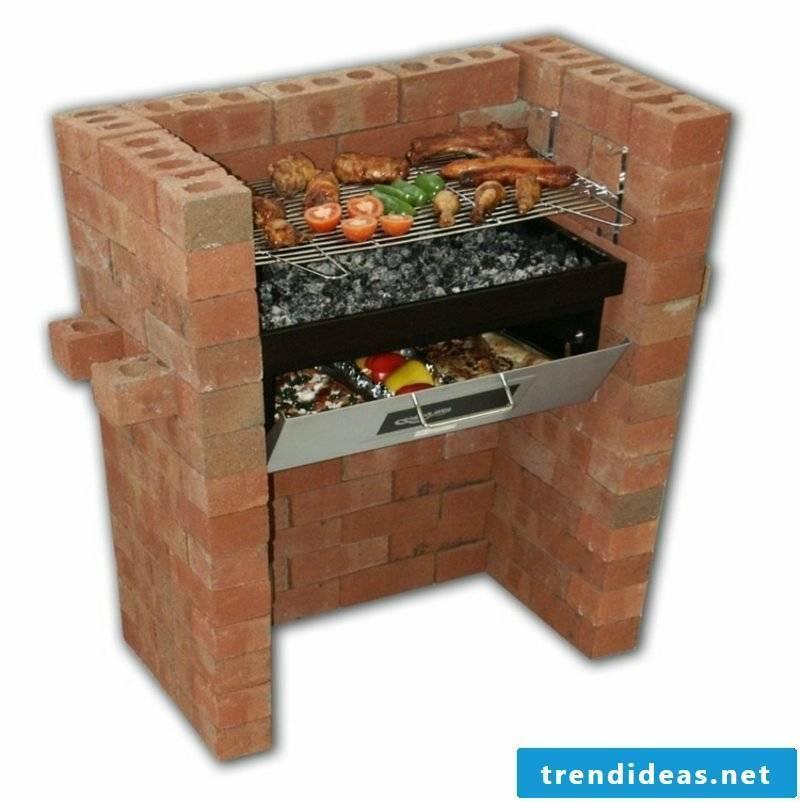 Barbecue brick design ideas