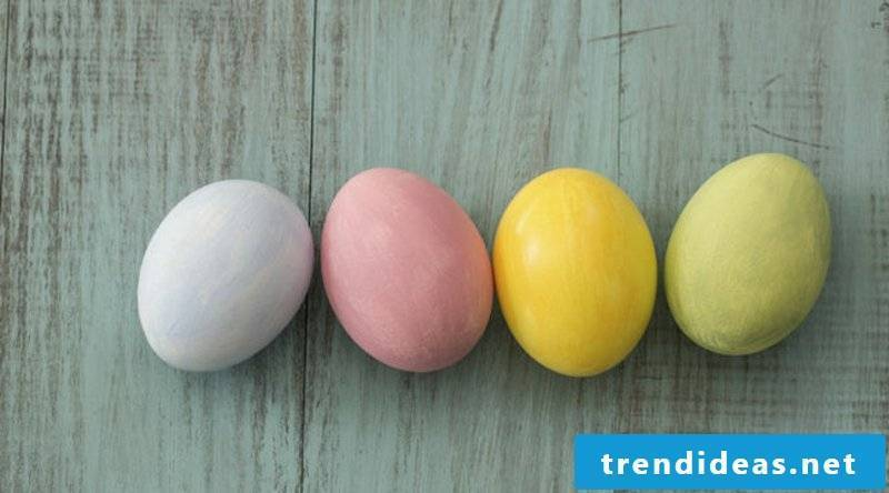 Easter eggs color gorgeous look natural colors
