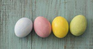 Easter eggs color with natural colors: recipes and great ornamentation techniques