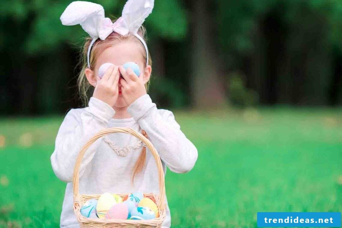 Ideas for an unforgettable easter egg hunt for the children on Easter Monday