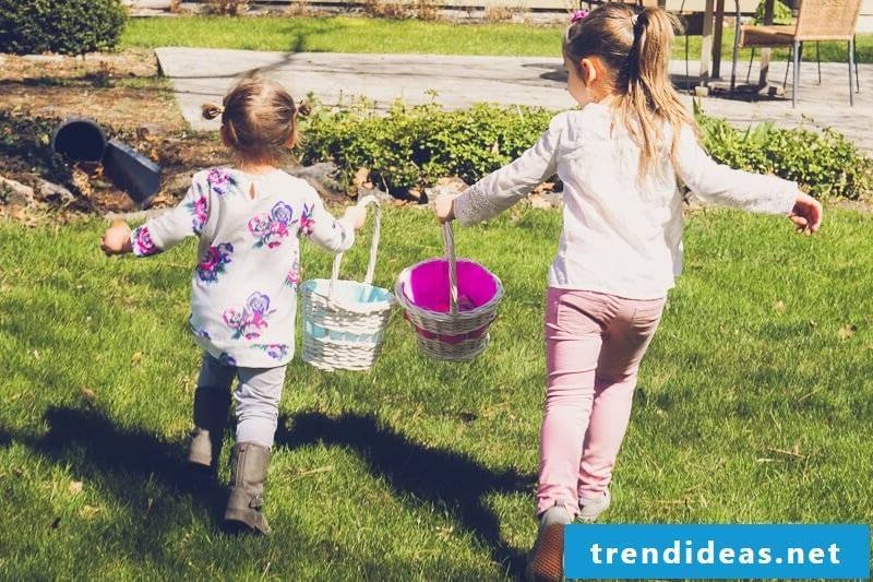 Have a fun easter egg hunt on Easter Monday
