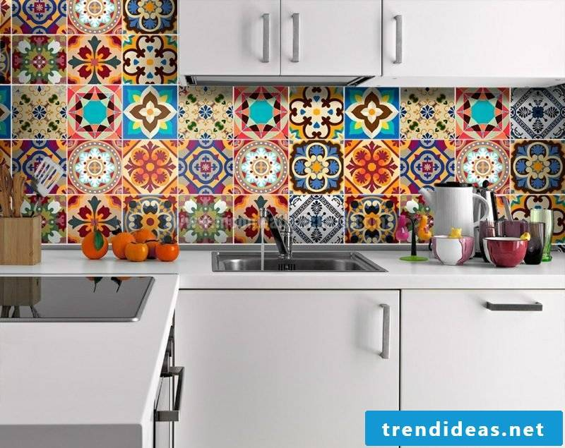 Wall tiles kitchen overcast glorious look