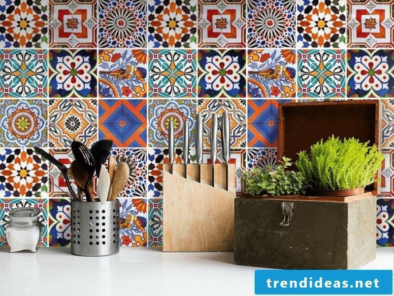 Wall tiles kitchen PVC tiles self-adhesive