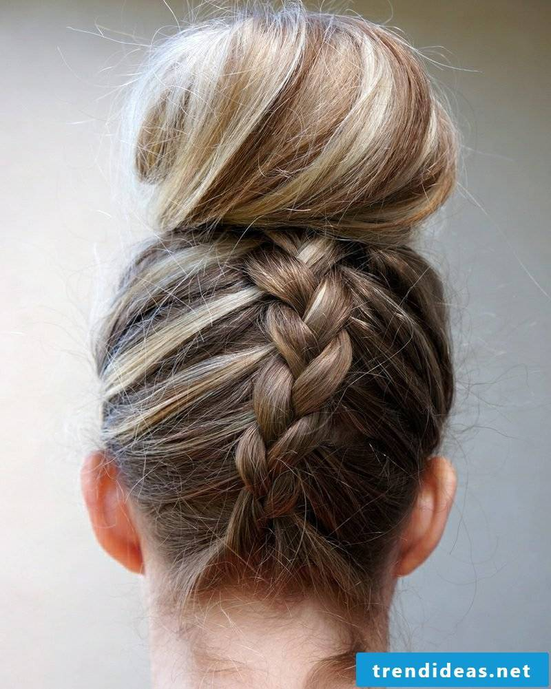French braid Dutt great hairstyle