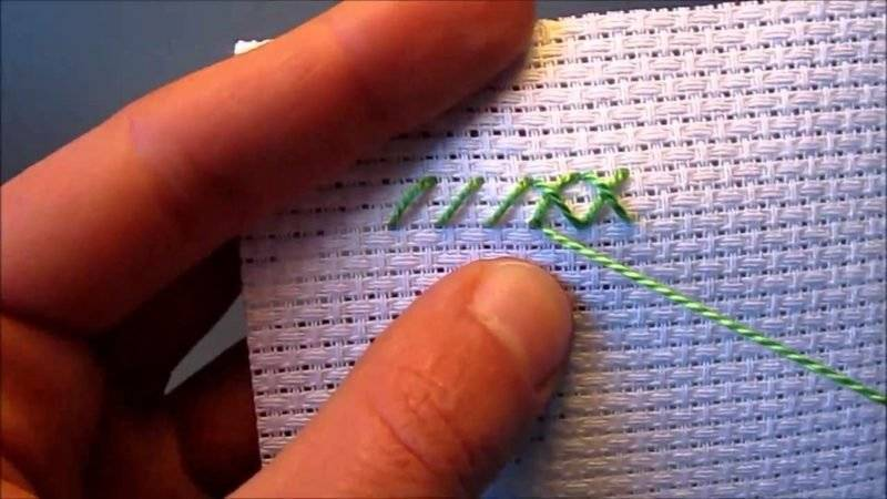 Embroidery learn cross-stitch