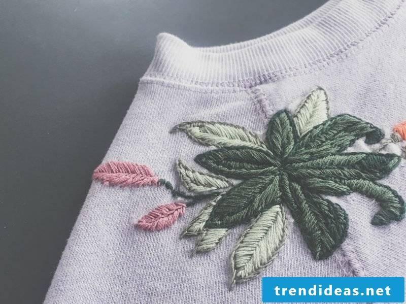 Embroidering learn creative ideas DIY leisure