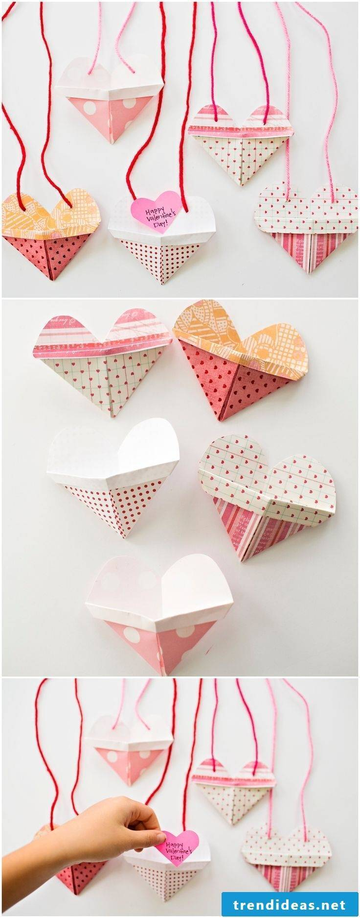 Envelope fold Valentine's Day