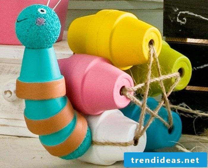 Plastic snail for the garden