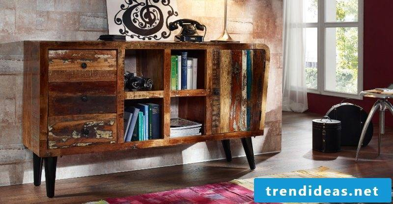 Real wood furniture chest of drawers