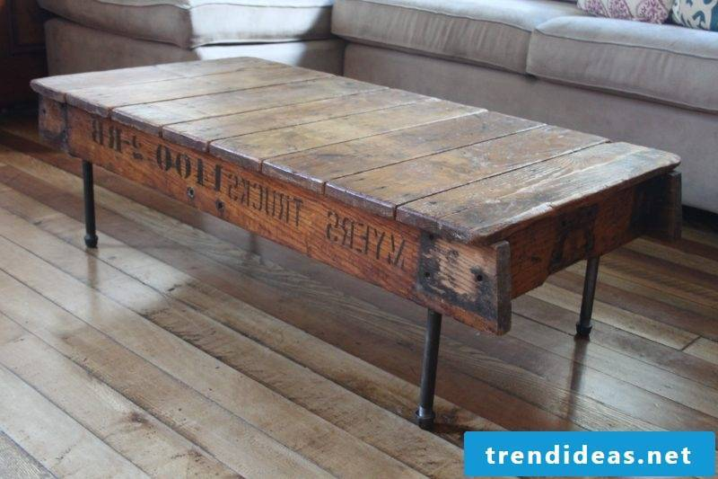 Real wood furniture table
