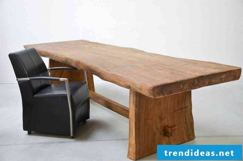 Real wood furniture work table