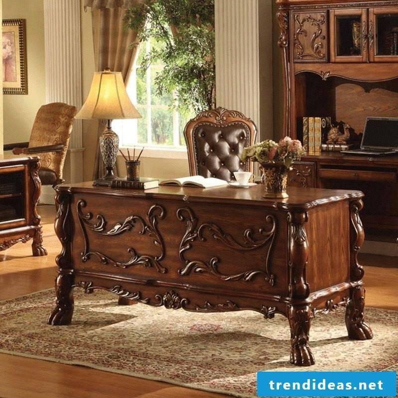 Real wood furniture study