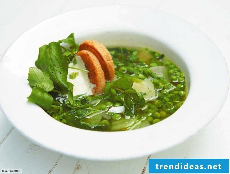 Good Friday meaning and recipes green vegetable soup