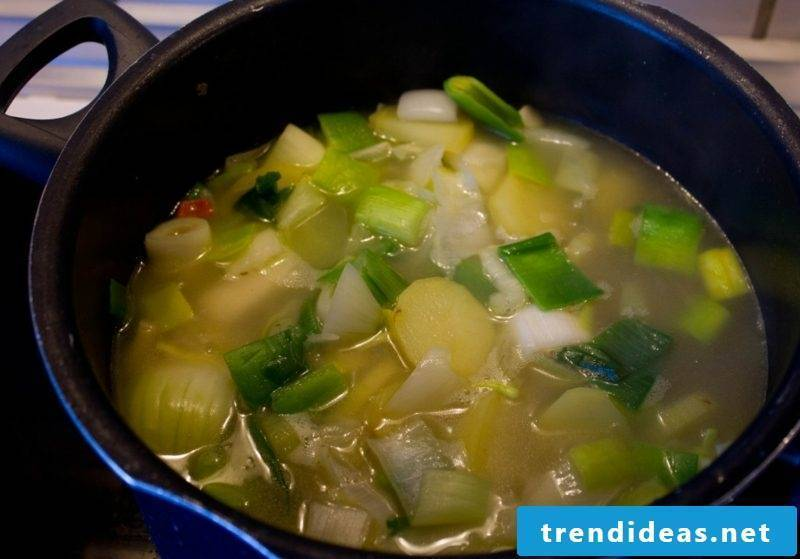 Good Friday 2017 ideas recipes green vegetable soup