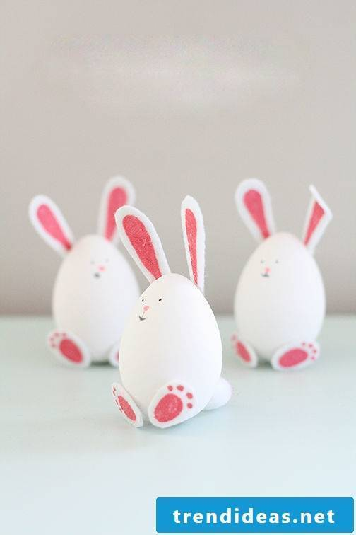 DIY Easter Bunny Craft: Give your Easter eggs a unique look
