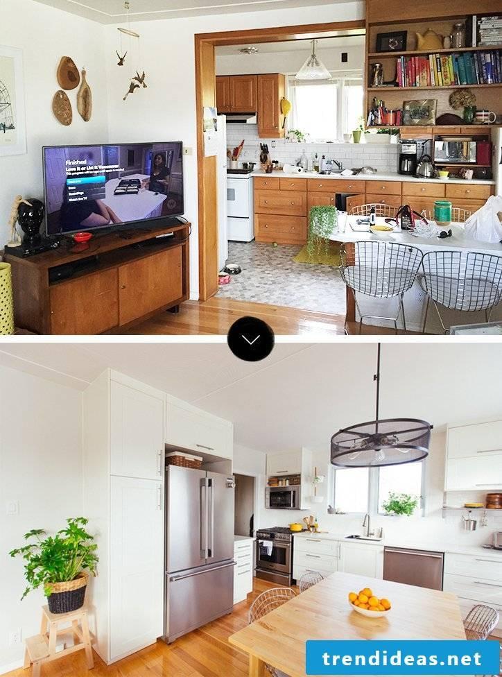 kitchen fronts exchange modernized