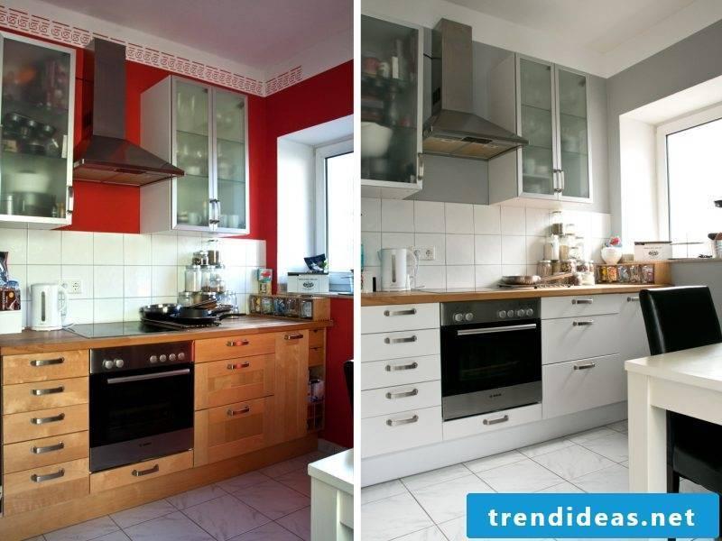 kitchen fronts exchange color