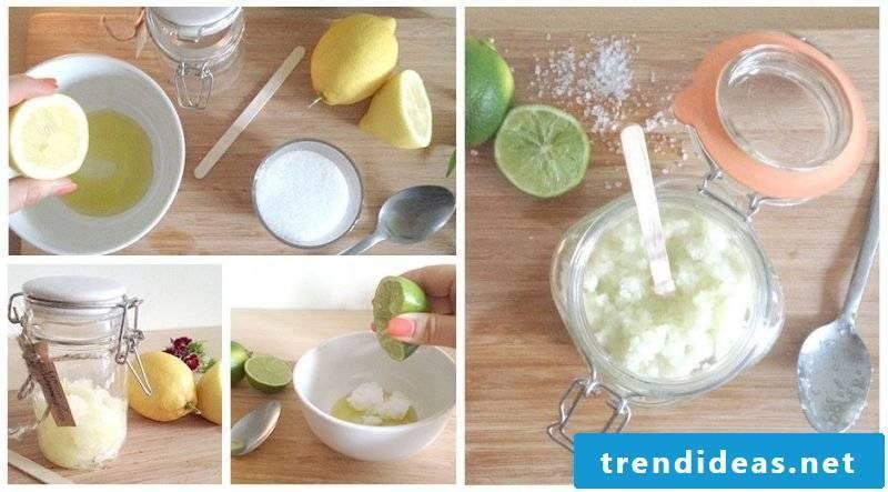 Exfoliate itself make recipe preparation