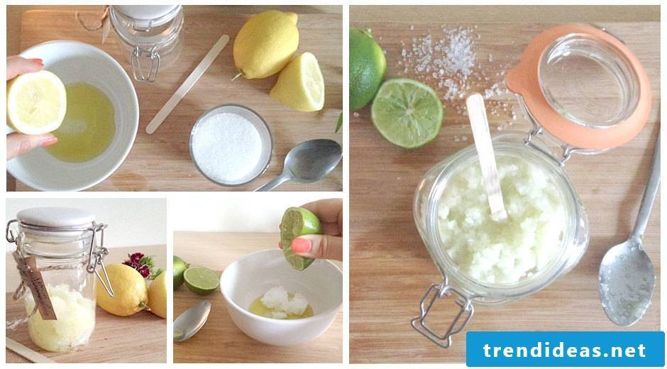 Exfoliation itself make recipes