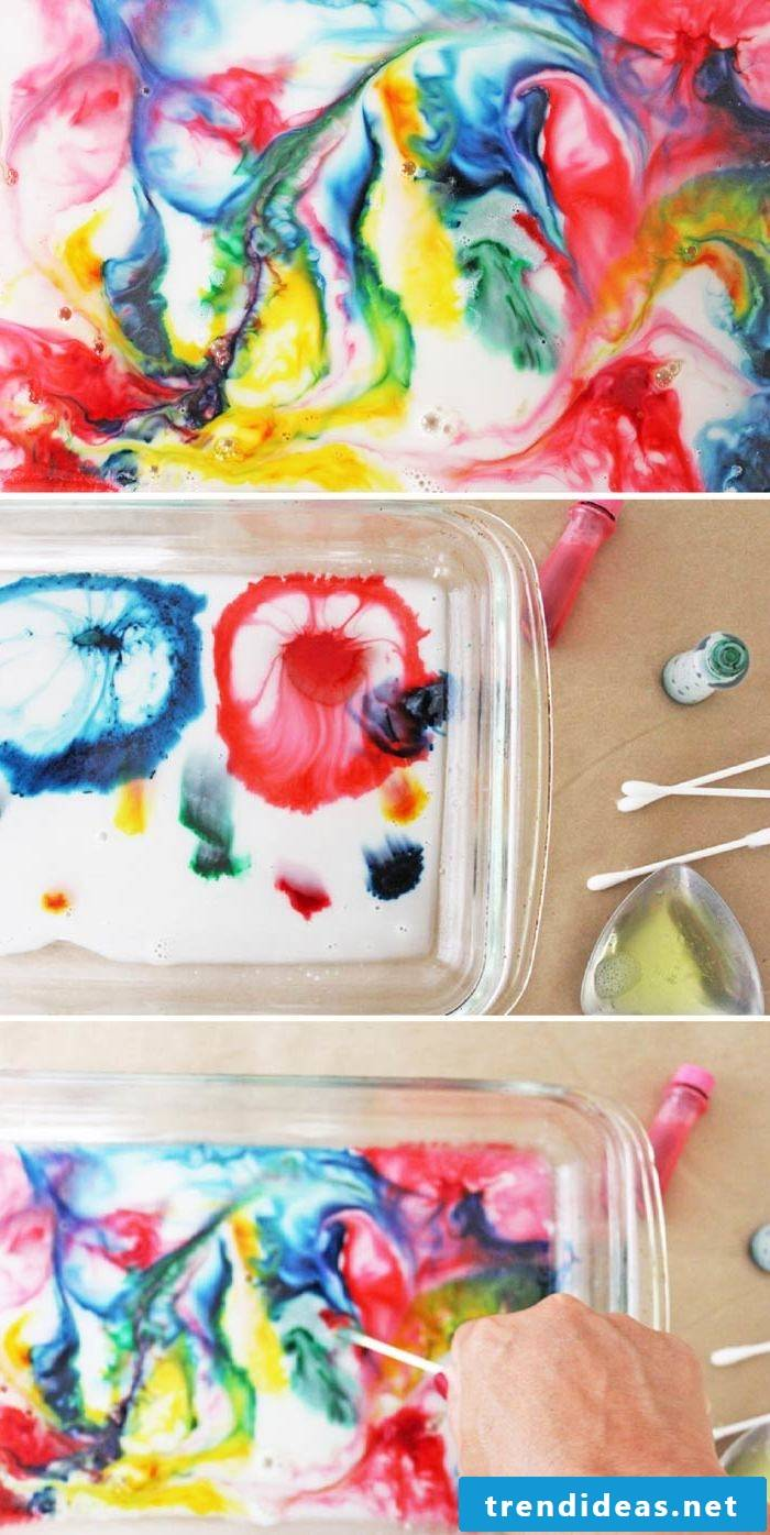 Experiments for children DIY ideas