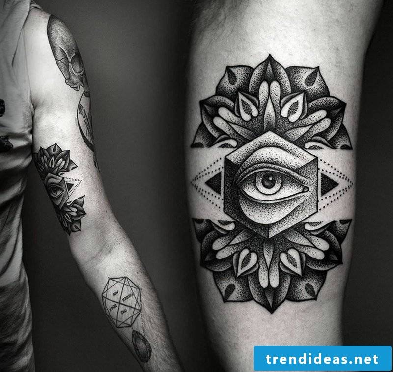 all-seeing eye arm tattoo