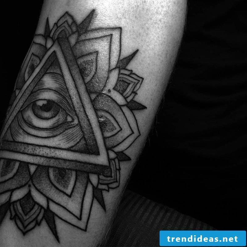 tattoo motif eye of providence