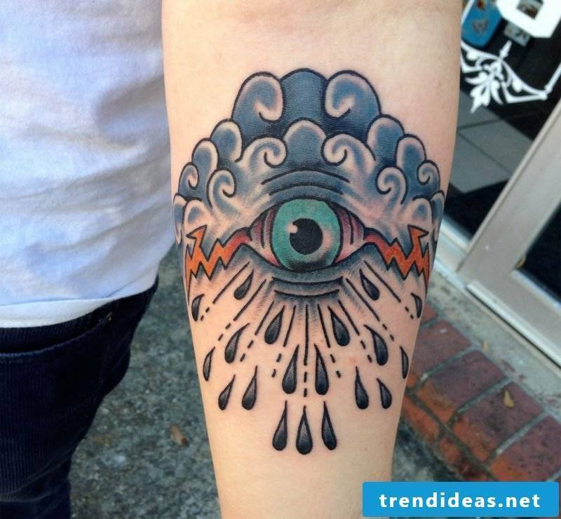 creative eyes tattoo ideas