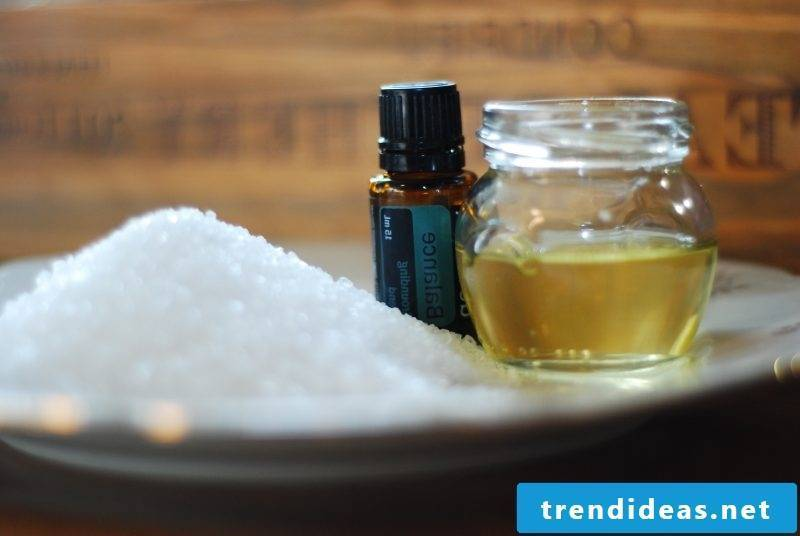 Bath salts make DIY yourself