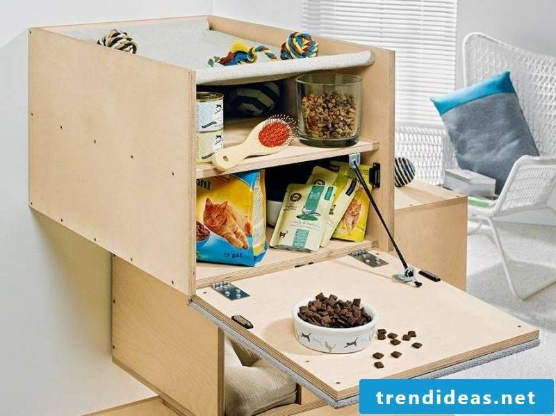Homemade cat furniture