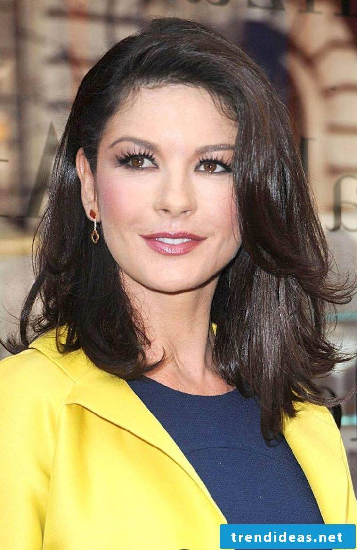Medium-length hair with Catherine Zeta Jones