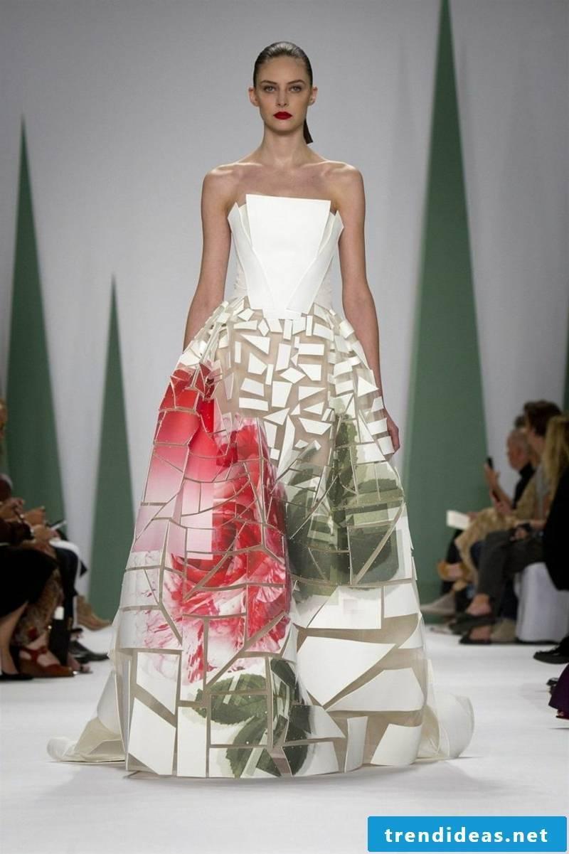 geometric motifs bridal fashion