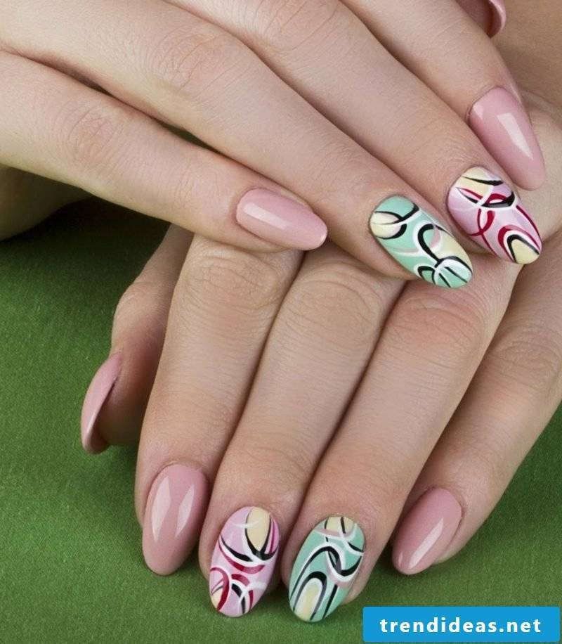 Gel nails pictures - Trends for spring