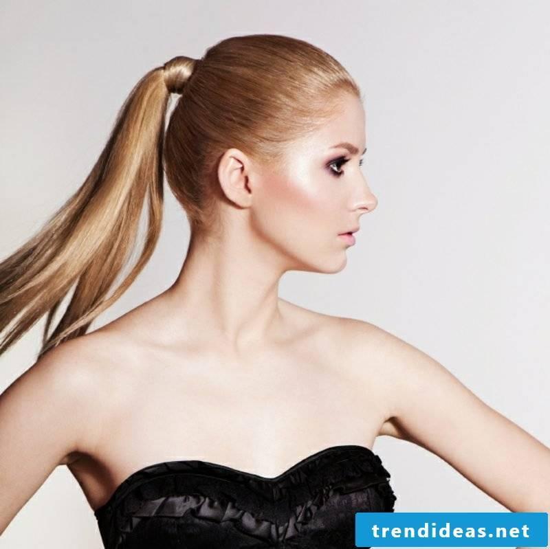 chic hairstyles Sleek braid