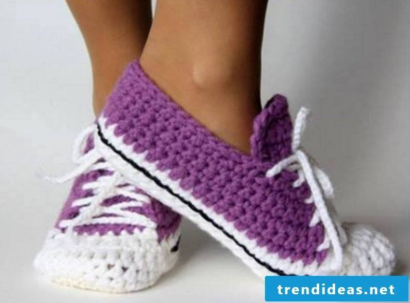 Knitted pattern for socks for shoes design