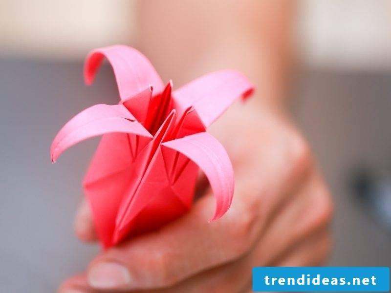 origami rose instruction fold