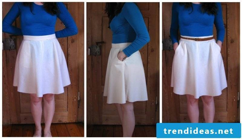 Instructions Sewing wrap skirt