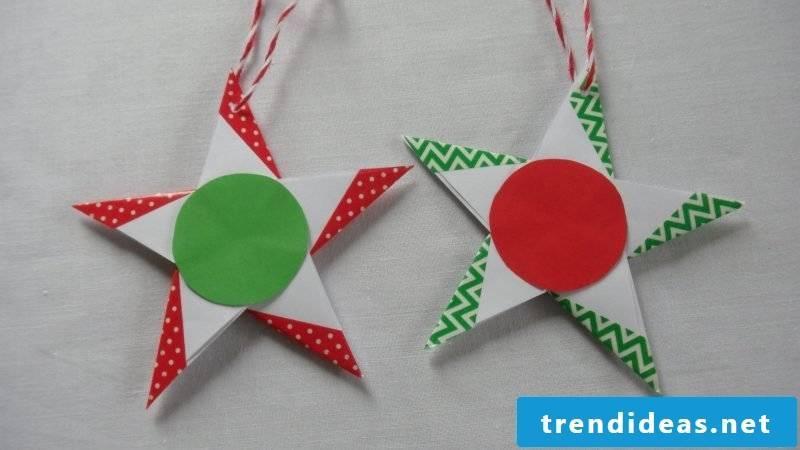 origami stars happy